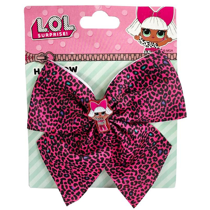LOL Surprise Spotted Print Hair Bow