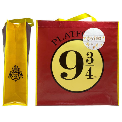 HARRY POTTER PLATFORM 9 3/4 SHOPPER BAG