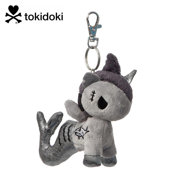 "Tokidoki Sharkbite Mermicorno Plush 4.5"" Key Clip"