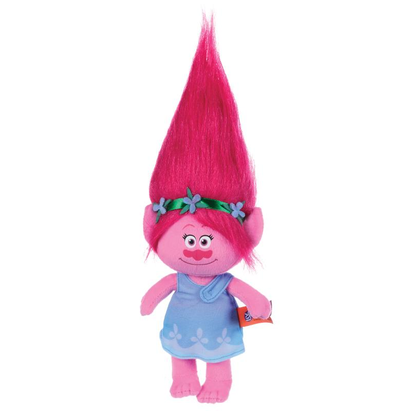 "DREAMWORKS TROLLS POPPY 12"" SOFT PLUSH TOY"