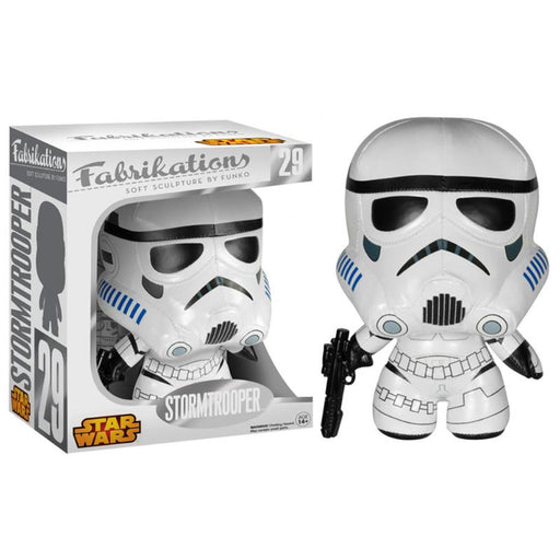 "FUNKO FABRIKATIONS STAR WARS STORMTROOPER 7"" SOFT SCULPTURE PLUSH"