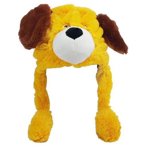 ANIMATED PLUSH DOG ANIMAL HAT