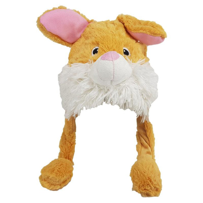 ANIMATED PLUSH RABBIT ANIMAL HAT