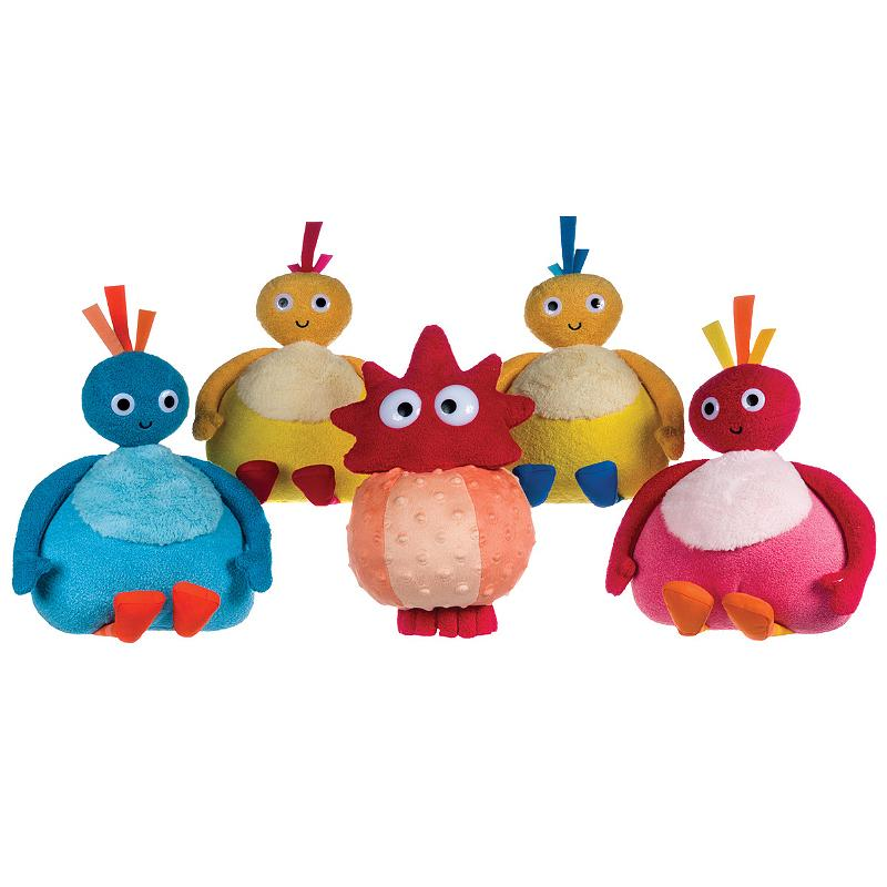 "TWIRLYWOOS 9"" SOFT PLUSH TOY"
