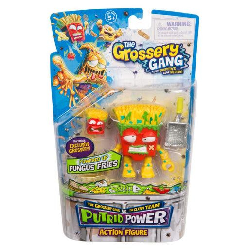 GROSSERY GANG PUTRID POWER FUNGUS FRIES ACTION FIGURE