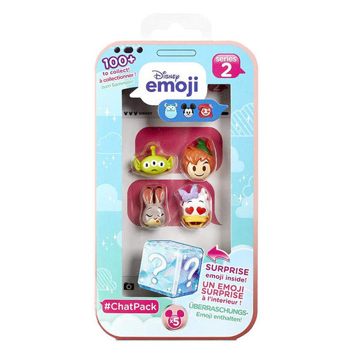 DISNEY EMOJI CHAT PACK SERIES 2 COLLECTIBLE 5PK