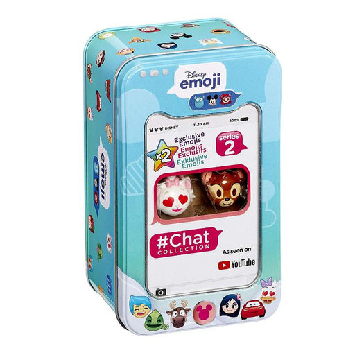 DISNEY EMOJI CHAT COLLECTION SERIES 2 STORAGE TIN