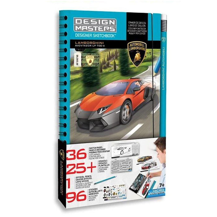 DESIGN MASTERS LAMBORGHINI OFFICIAL MINI DESIGNER SKETCHBOOK