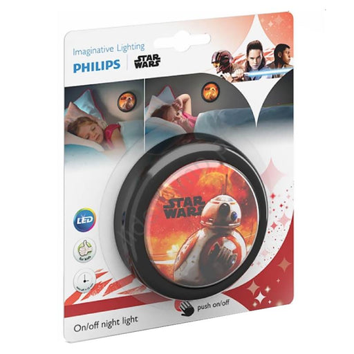 PHILIPS STAR WARS BB-8 MINI LED PUSH NIGHT LIGHT