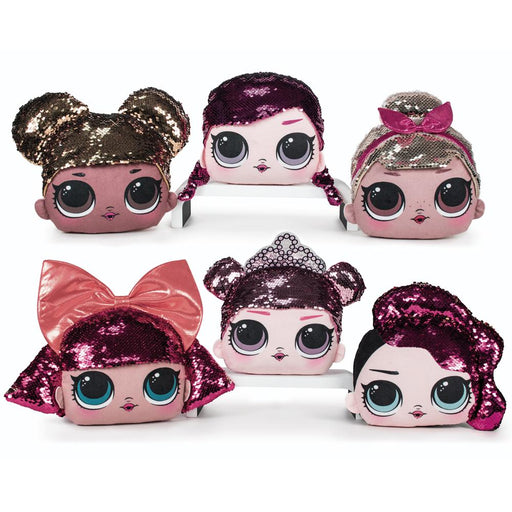 "LOL Surprise Sequin Hair 8"" Soft Plush Toy"