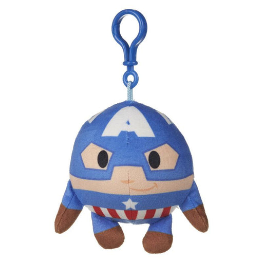 "MARVEL SQUEEZSTERS CAPTAIN AMERICA SLOW RISING 4"" PLUSH TOY"