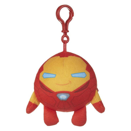 "MARVEL SQUEEZSTERS IRON MAN SLOW RISING 4"" PLUSH TOY"