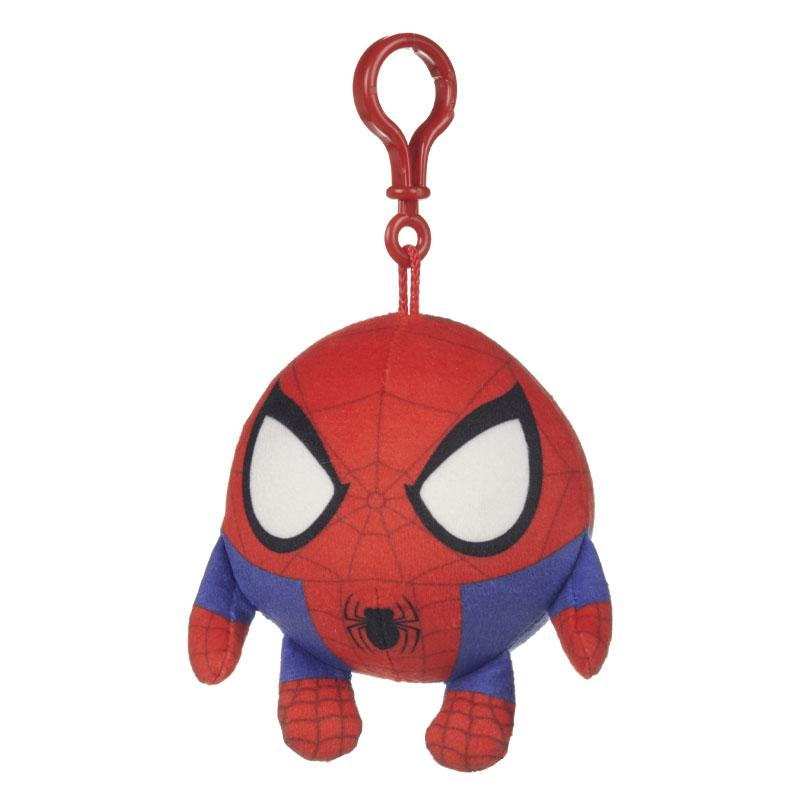 "MARVEL SQUEEZSTERS SPIDERMAN SLOW RISING 4"" PLUSH TOY"