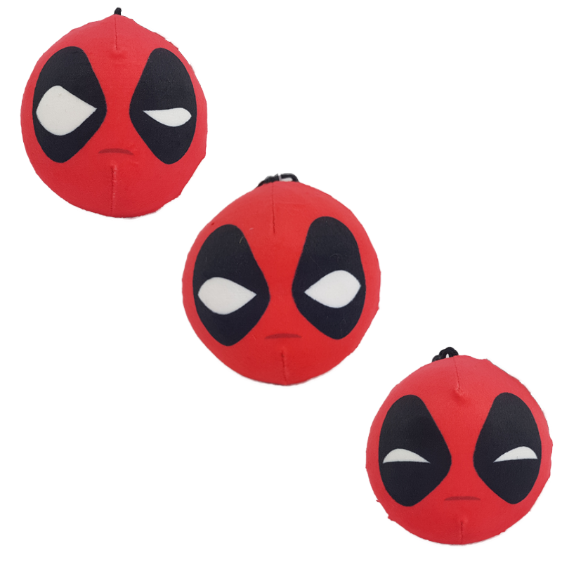 MARVEL DEADPOOL SQUEEZSTER SLOW RISING BAG CLIP