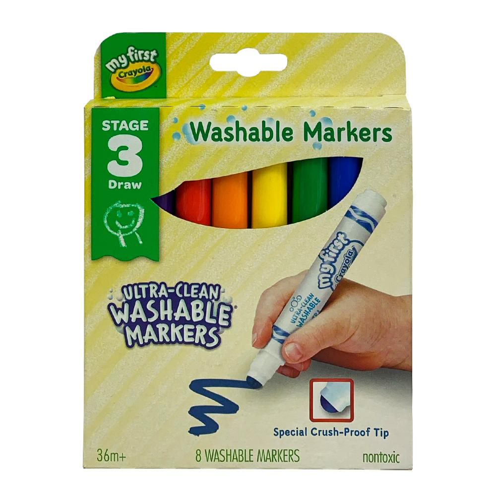 Crayola My First Washable Marker 8pk