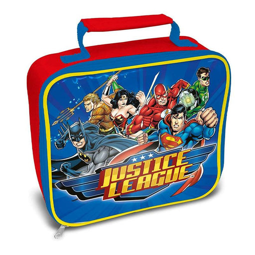 DC JUSTICE LEAGUE INSULATED LUNCH BAG