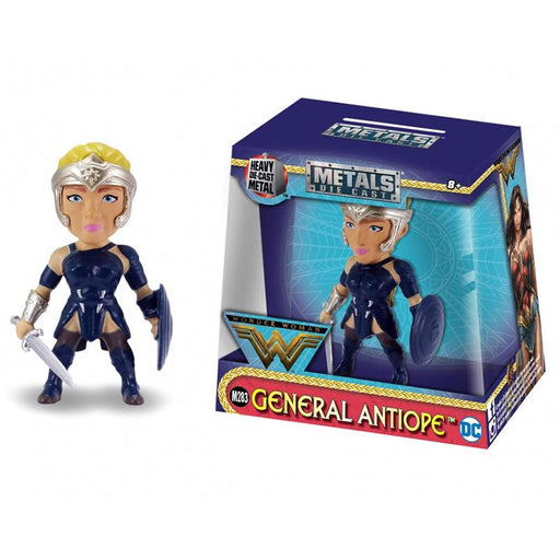 "METALFIGS WONDER WOMAN GENERAL ANTIOPE 2.5"" JADA FIGURE"