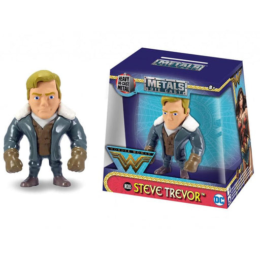 "METALFIGS WONDER WOMAN STEVE TREVOR 2.5"" JADA FIGURE"