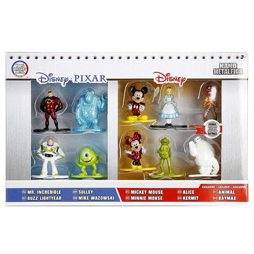 Disney Metal Nano Figs 10pk Figure Set