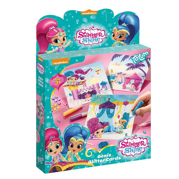 Shimmer & Shine Genie Glitter Cards Craft Set