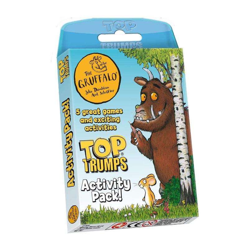GRUFFALO TOP TRUMPS ACTIVITY PACK 5 GAMES & ACTIVITIES