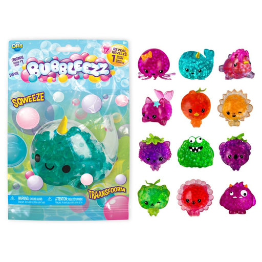 ORB BUBBLEEZZ SUPER SERIES 1 SQUISHY BEAD BALL