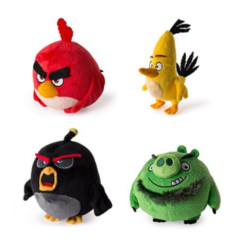 "ANGRY BIRDS 5"" SOFT PLUSH TOY"