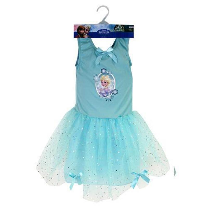 DISNEY FROZEN ELSA FANCY DRESS TUTU SIZE: 5-6