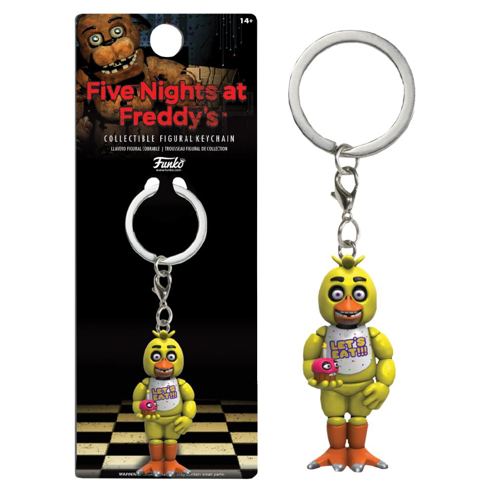 FUNKO FIVE NIGHTS AT FREDDY'S CHICA COLLECTIBLE FIGURE KEYCHAIN