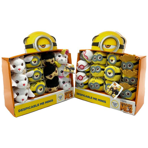 "DESPICABLE ME MINIONS MINIS TSUM TSUM 3.5"" PLUSH TOY"