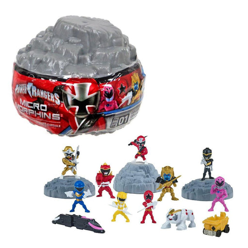 POWER RANGERS MICRO MORPHINS MINI FIGURE BLIND CAPSULE