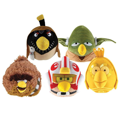 "Star Wars Angry Birds Series 2 6"" Soft Plush Toy"