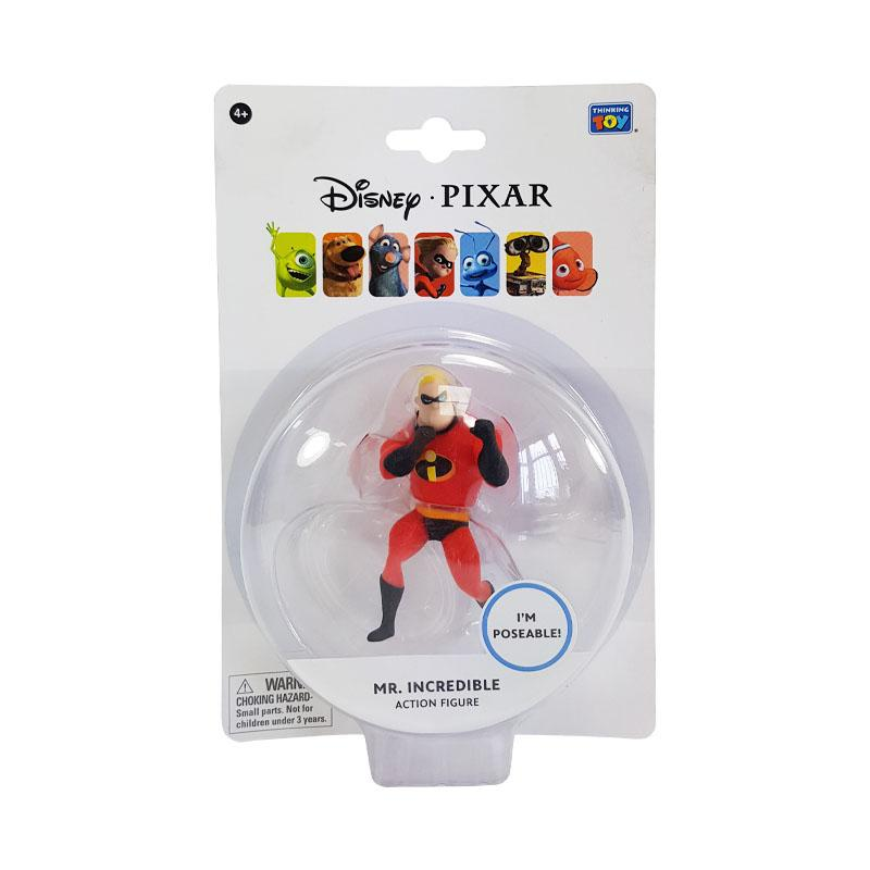 "DISNEY PIXAR MR INCREDIBLE 3.75"" ACTION FIGURE"