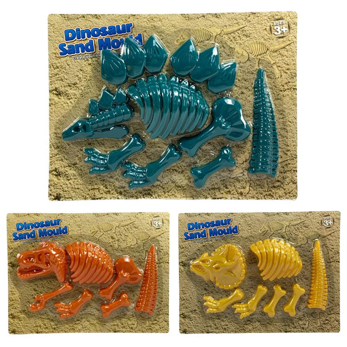 Dinosaur Skeleton Sand Mould
