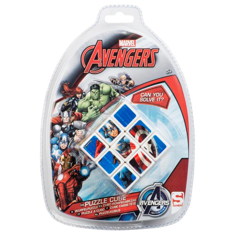 MARVEL AVENGERS PUZZLE CUBE