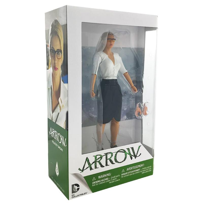 "ARROW FELICITY SMOAK DC COLLECTIBLES 6.75"" ACTION FIGURE"
