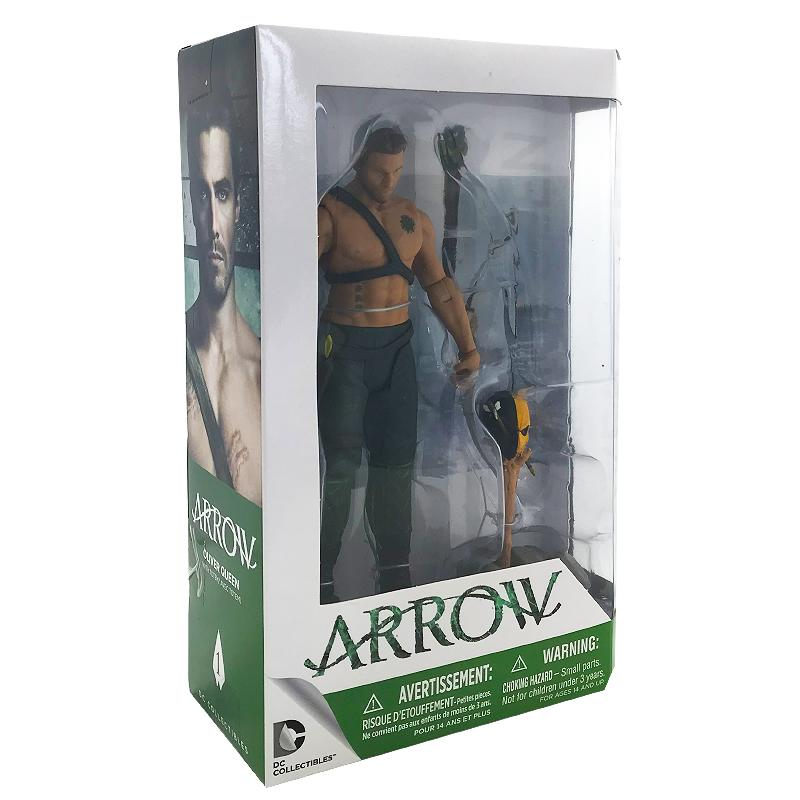 "ARROW OLIVER MCQUEEN DC COLLECTIBLES 6.75"" ACTION FIGURE"