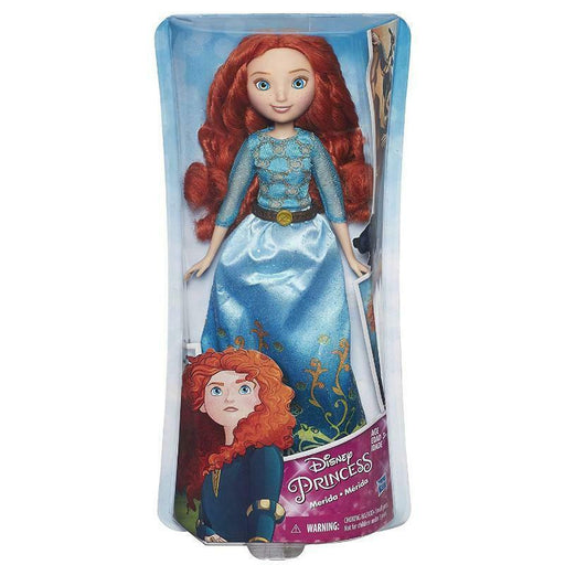 "DISNEY PRINCESS ROYAL SHIMMER MERIDA 10"" FASHION DOLL"