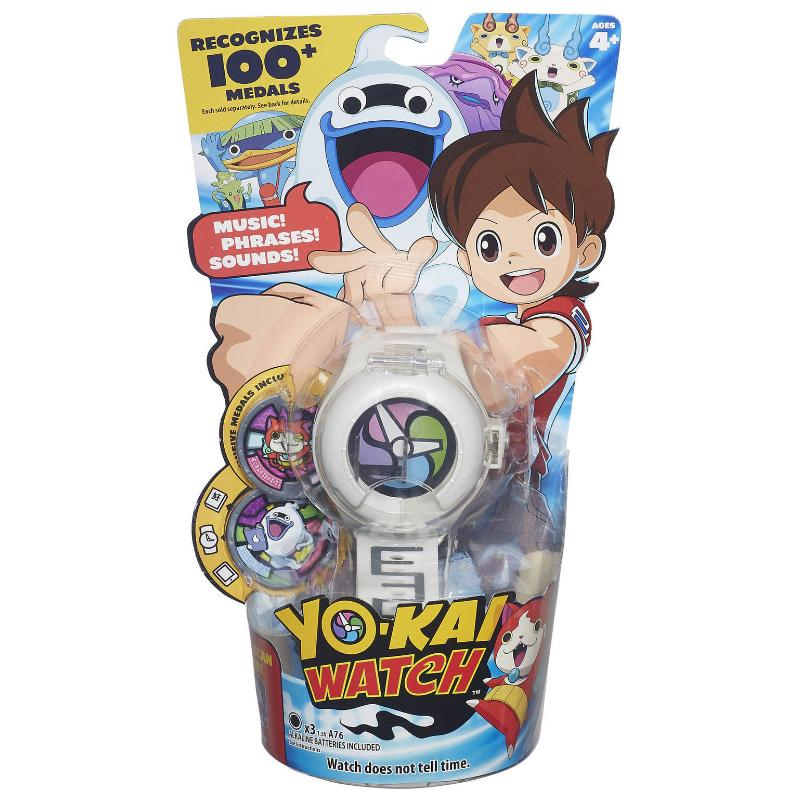 YOKAI SEASON 1 COLLECTIBLE WATCH WITH PHRASES & SOUNDS