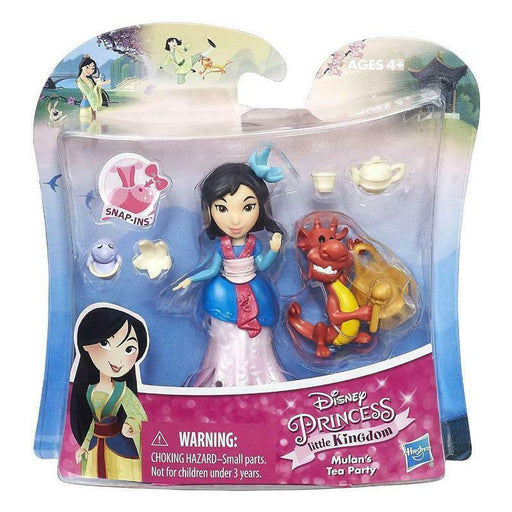 DISNEY PRINCESS LITTLE KINGDOM MULAN'S TEA PARTY PLAY SET
