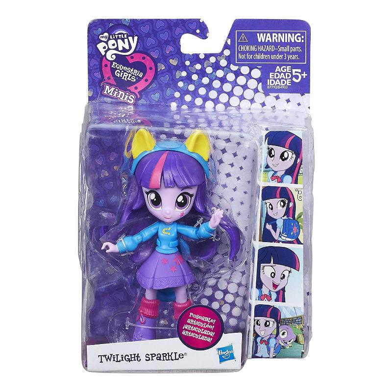 "MY LITTLE PONY EQUESTRIA GIRLS MINIS 4"" DOLL - TWILIGHT SPARKLE"