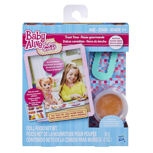 BABY ALIVE SUPER SNACKS TREAT TIME DOLL FOOD SNACK PACK