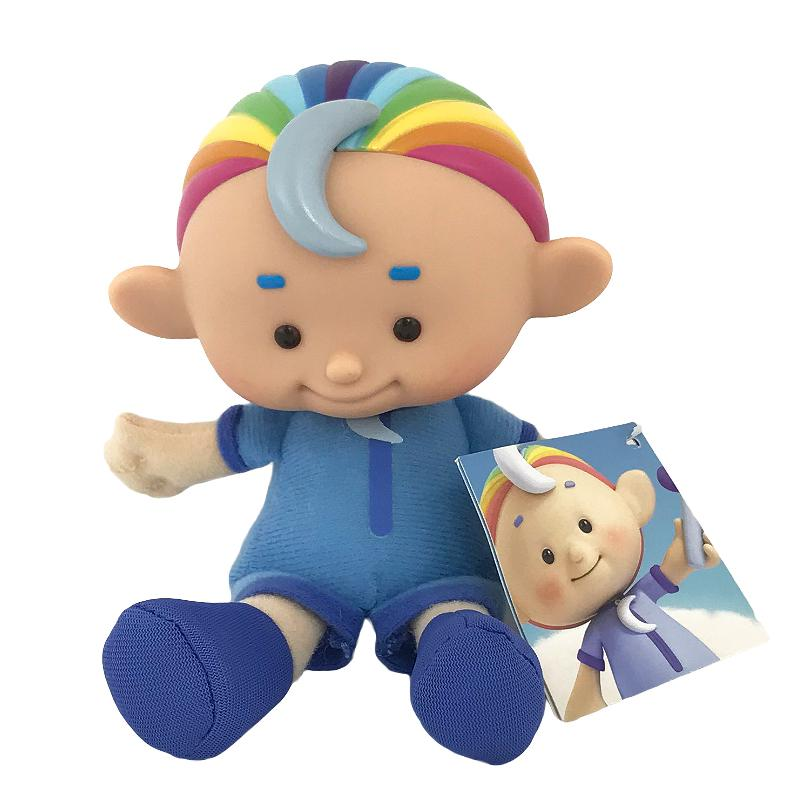"CLOUD BABIES 6"" SOFT PLUSH TOY (BLUE)"