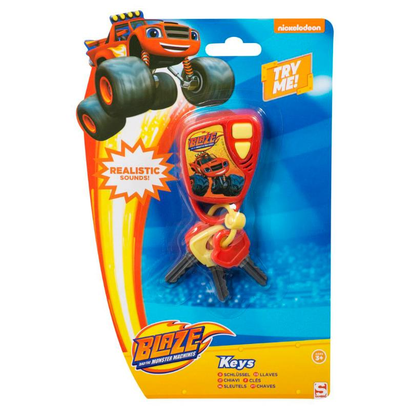 BLAZE & THE MONSTER MACHINES CAR KEYS WITH SOUND