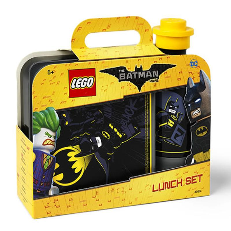 DC BATMAN LEGO MOVIE LUNCH BOX SET