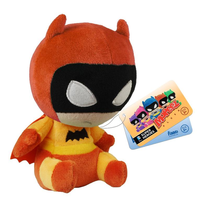 "MOPEEZ BATMAN 4"" SOFT PLUSH - ORANGE"