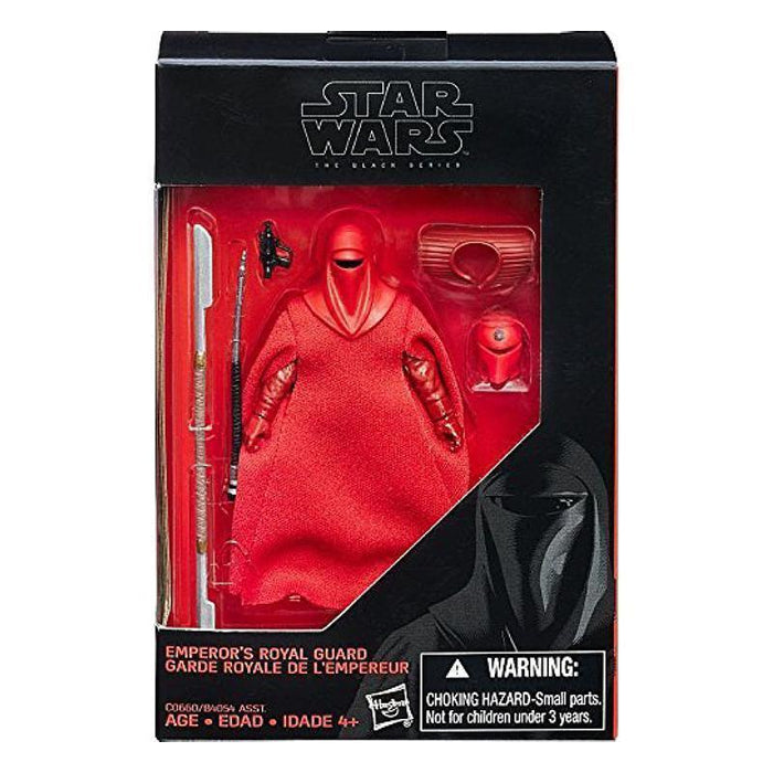 "STAR WARS THE BLACK SERIES EMPEROR'S ROYAL GUARD 3.75"" FIGURE"
