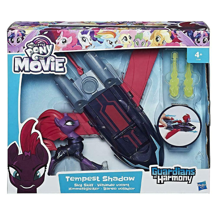 My Little Pony Guardians Of Harmony Tempest Shadow Sky Skiff Play Set