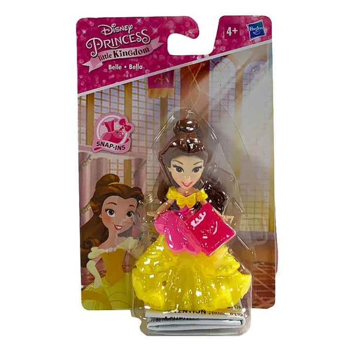 DISNEY PRINCESS LITTLE KINGDOM BELLE 8CM DOLL