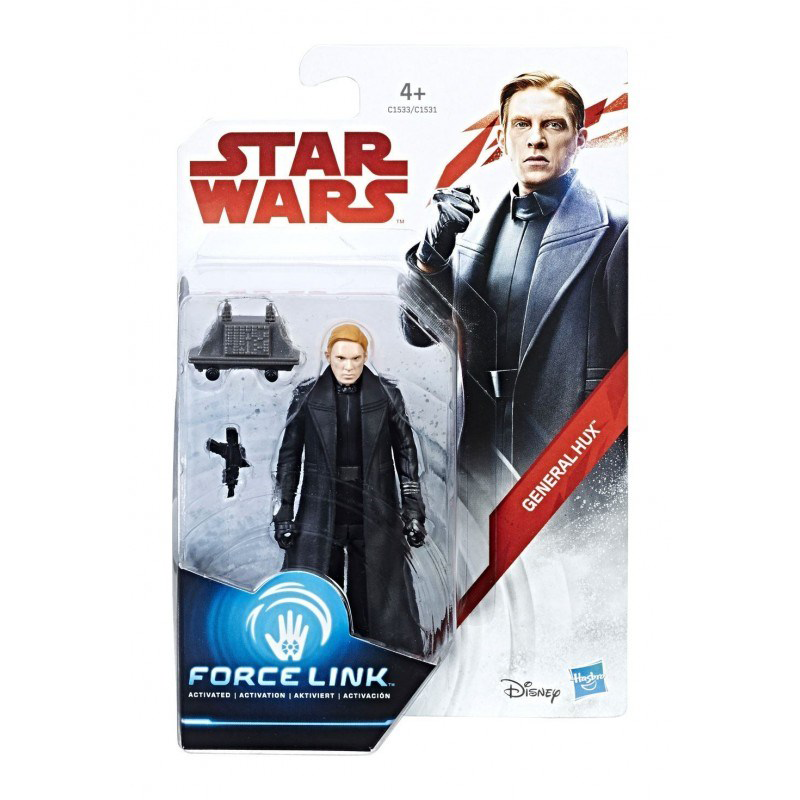 "STAR WARS FORCE LINK 3.75"" ACTION FIGURE - GENERAL HUX"